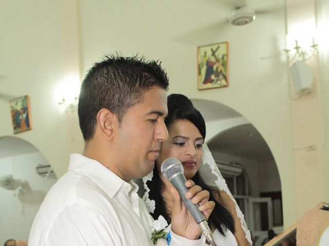 El matrimonio de Alexander y Karen en Cartagena, Bolívar 35