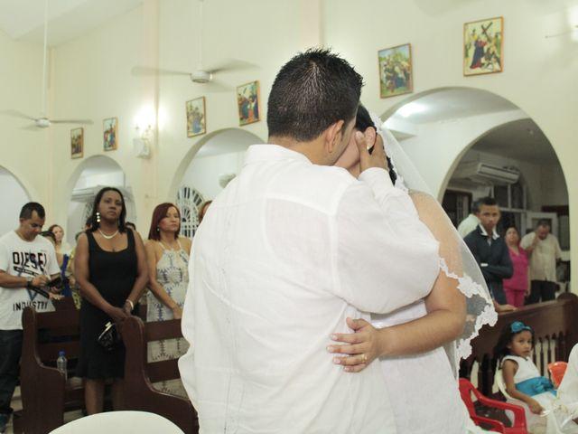 El matrimonio de Alexander y Karen en Cartagena, Bolívar 39