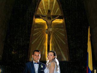 El matrimonio de Albani  y Walter  1