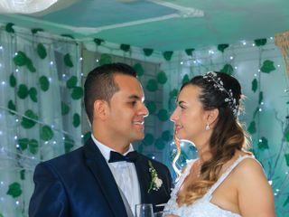 El matrimonio de Albani  y Walter  3