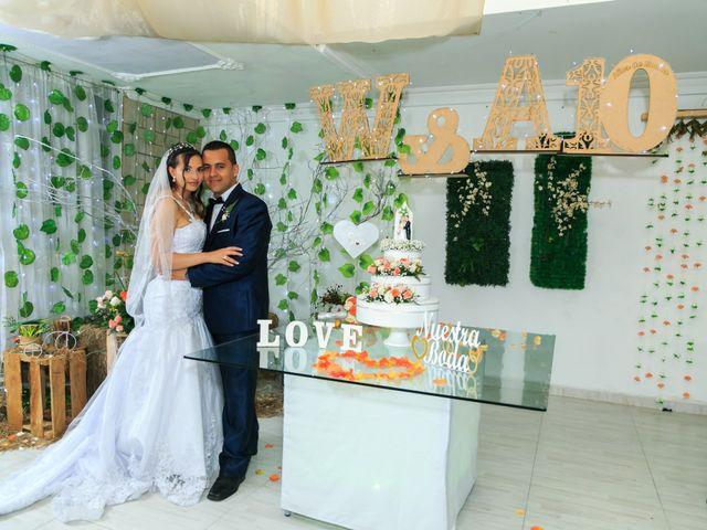 El matrimonio de Albani  y Walter