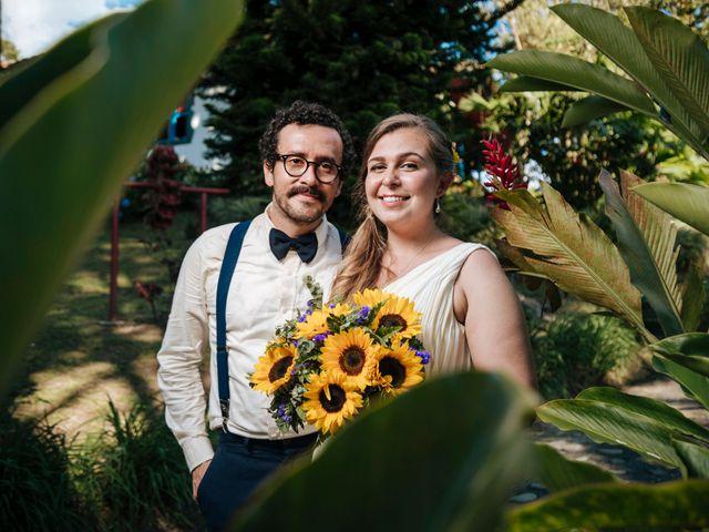El matrimonio de Elena y Oscar