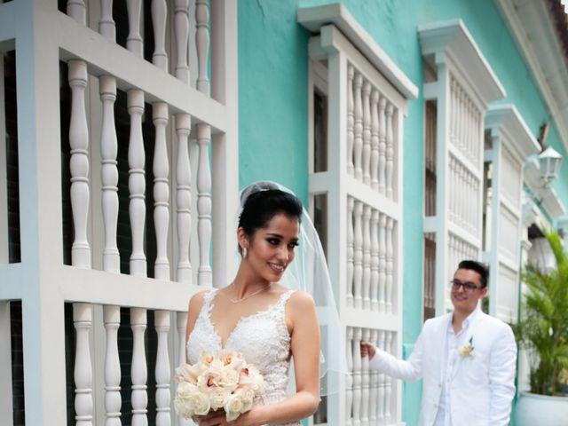 El matrimonio de Francisco y Constanza en Cartagena, Bolívar 25