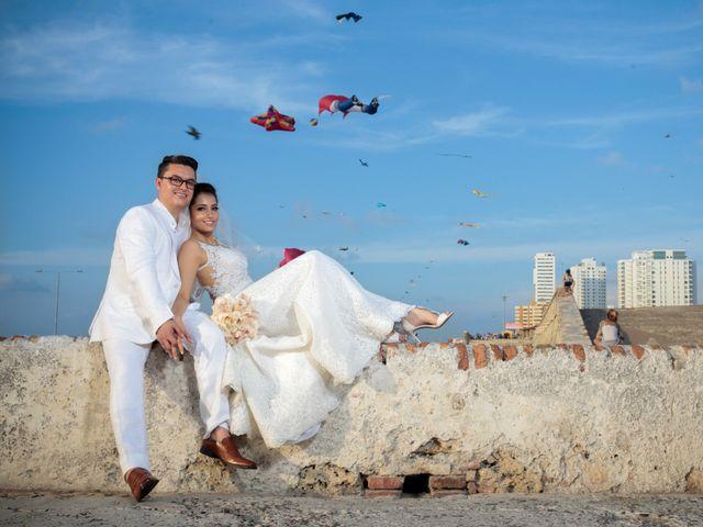 El matrimonio de Francisco y Constanza en Cartagena, Bolívar 31