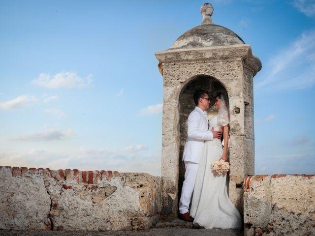El matrimonio de Francisco y Constanza en Cartagena, Bolívar 32