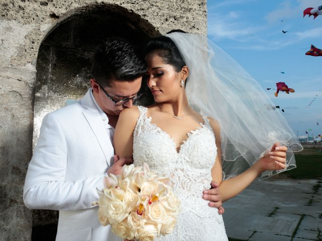 El matrimonio de Francisco y Constanza en Cartagena, Bolívar 34