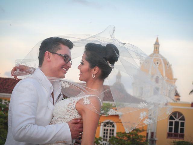 El matrimonio de Francisco y Constanza en Cartagena, Bolívar 36