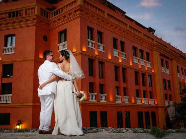 El matrimonio de Francisco y Constanza en Cartagena, Bolívar 38