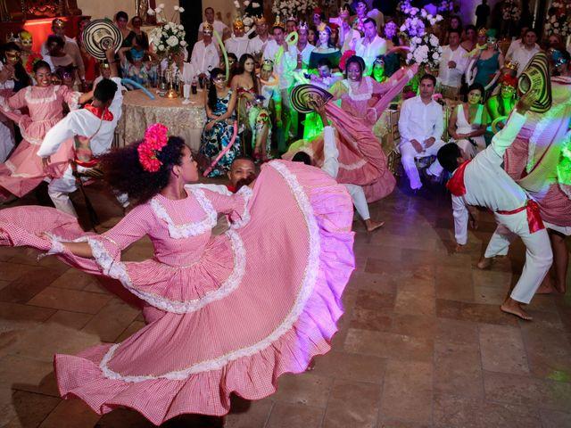 El matrimonio de Francisco y Constanza en Cartagena, Bolívar 48