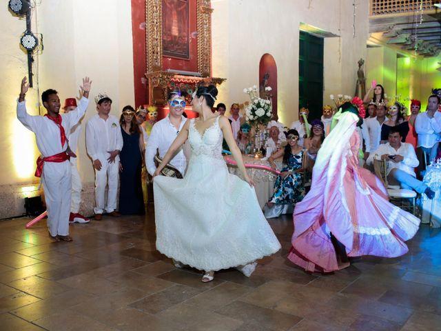 El matrimonio de Francisco y Constanza en Cartagena, Bolívar 49
