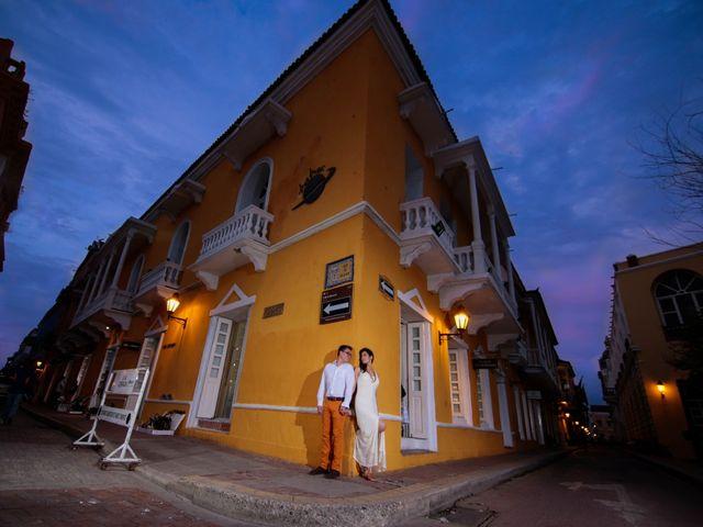 El matrimonio de Francisco y Constanza en Cartagena, Bolívar 1