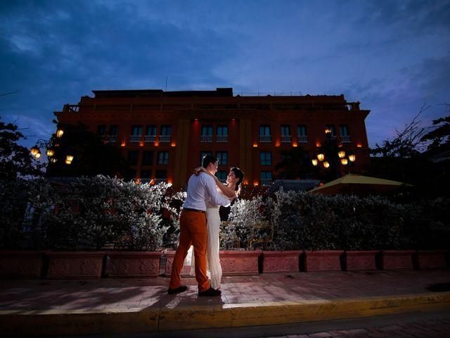 El matrimonio de Francisco y Constanza en Cartagena, Bolívar 50