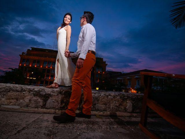 El matrimonio de Francisco y Constanza en Cartagena, Bolívar 53