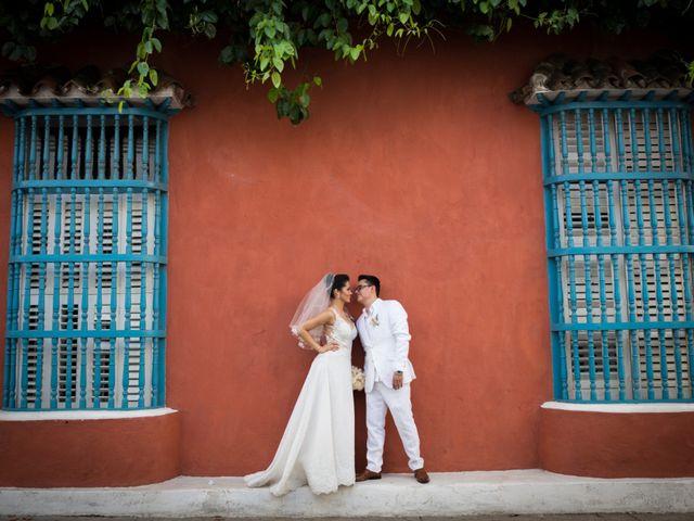El matrimonio de Francisco y Constanza en Cartagena, Bolívar 29