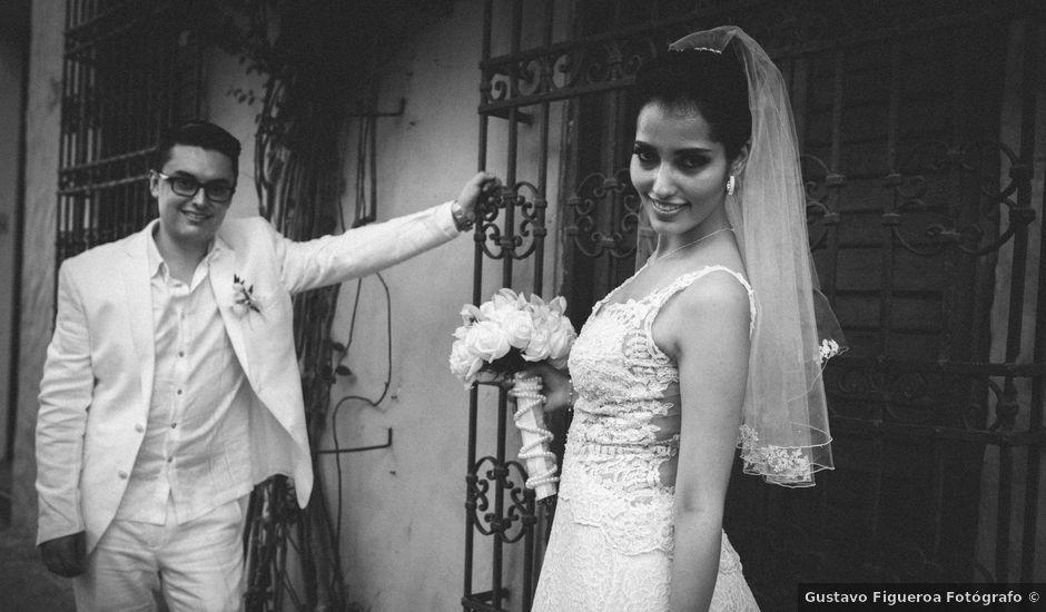 El matrimonio de Francisco y Constanza en Cartagena, Bolívar