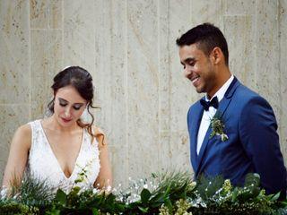 El matrimonio de Viviana y Salomon