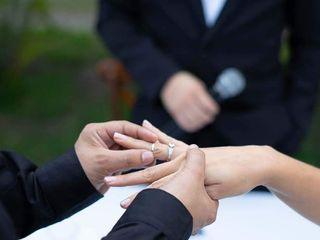 El matrimonio de Lina María y Víctor  3
