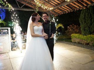 El matrimonio de Lina María y Víctor