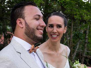 El matrimonio de Beatriz y Edgar