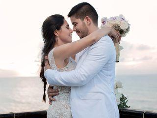 El matrimonio de Nadia y Jorge