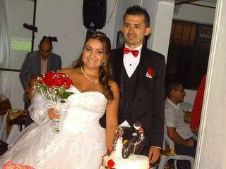 El matrimonio de Valentina y Diego