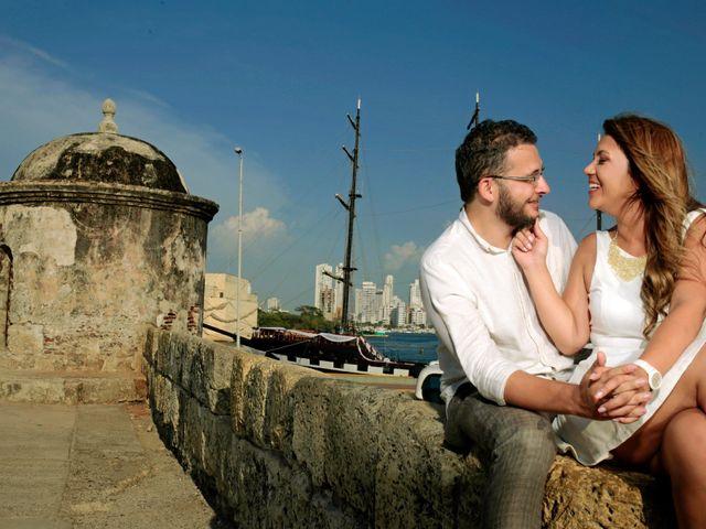 El matrimonio de Fernando y Luisa en Cartagena, Bolívar 2
