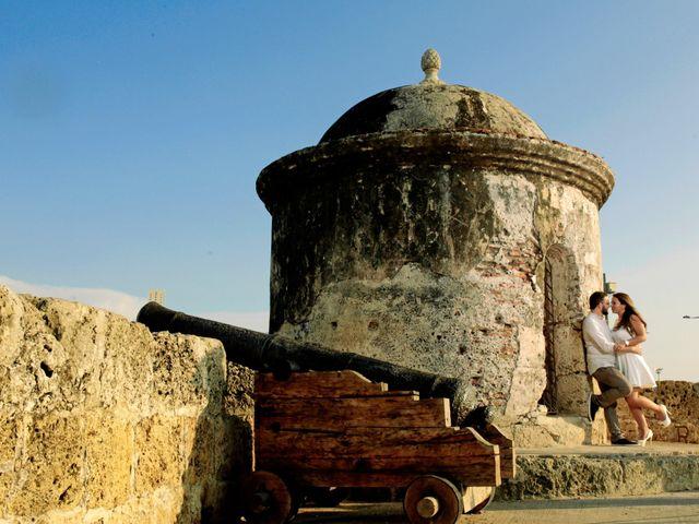 El matrimonio de Fernando y Luisa en Cartagena, Bolívar 4