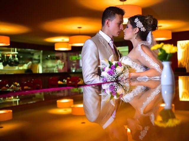El matrimonio de Yenny y Yamid