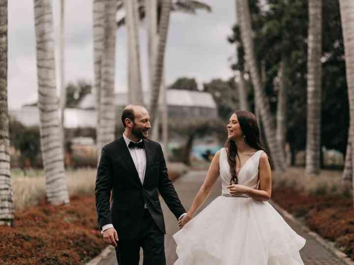 El matrimonio de Daniela  y Samuel