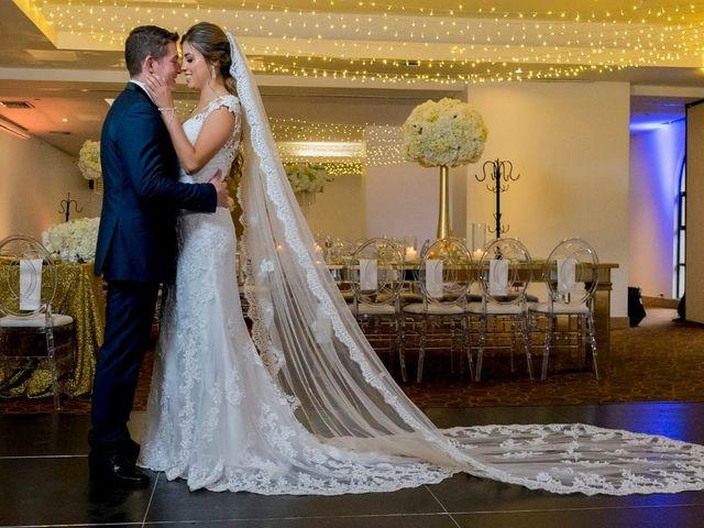El matrimonio de Daniel  y Alejandra