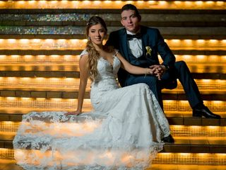 El matrimonio de Alejandra y Daniel