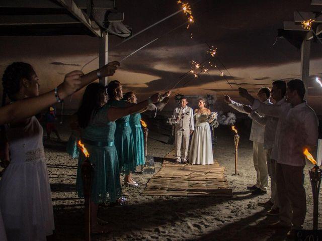 El matrimonio de Wilson y Monica en Cartagena, Bolívar 5