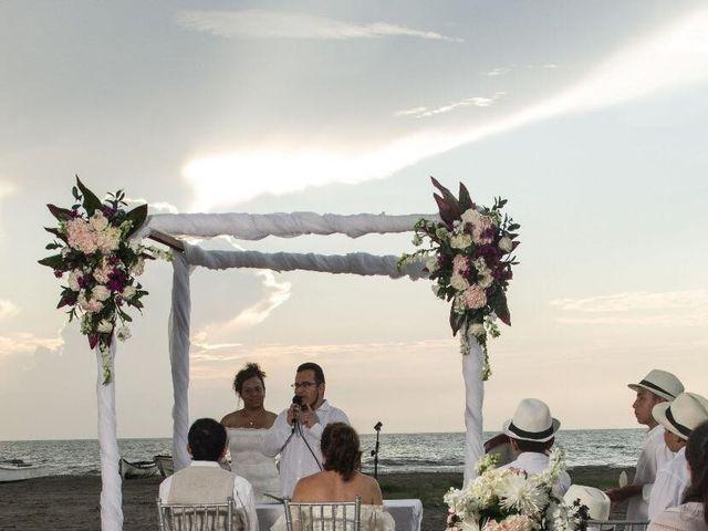 El matrimonio de Wilson y Monica en Cartagena, Bolívar 6
