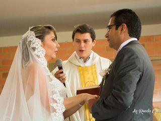 El matrimonio de Jenny y Andres