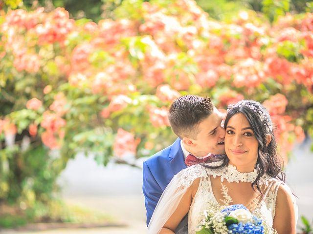 El matrimonio de Diana  y Mateo