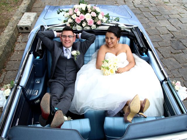 El matrimonio de Jenny y Cesar