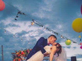 El matrimonio de Gloria y Jorge