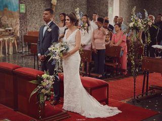 El matrimonio de Giselle  y William