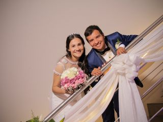 El matrimonio de Adriana y Gustavo