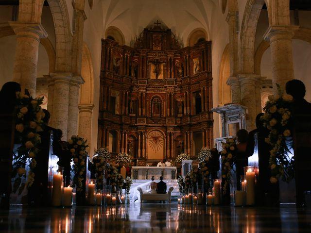 El matrimonio de Antonio y Caterina en Cartagena, Bolívar 13