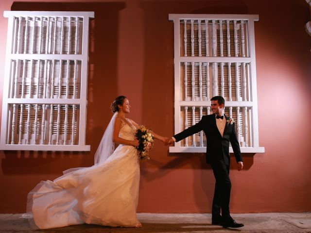 El matrimonio de Antonio y Caterina en Cartagena, Bolívar 37