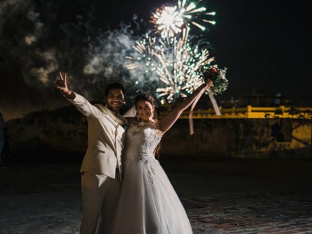 El matrimonio de Daniel y Lina en Cartagena, Bolívar 25