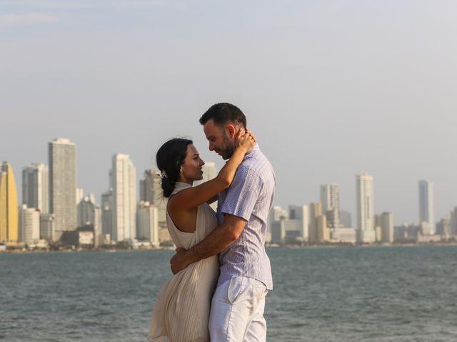 El matrimonio de Jhon y Susana en Cartagena, Bolívar 10