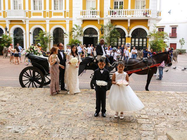 El matrimonio de Jhon y Susana en Cartagena, Bolívar 28