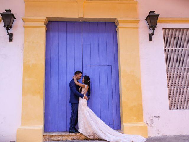 El matrimonio de Jhon y Susana en Cartagena, Bolívar 31