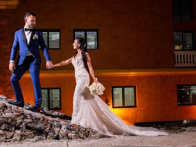 El matrimonio de Jhon y Susana en Cartagena, Bolívar 33