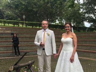 El matrimonio de Paola Andrea y Bernd