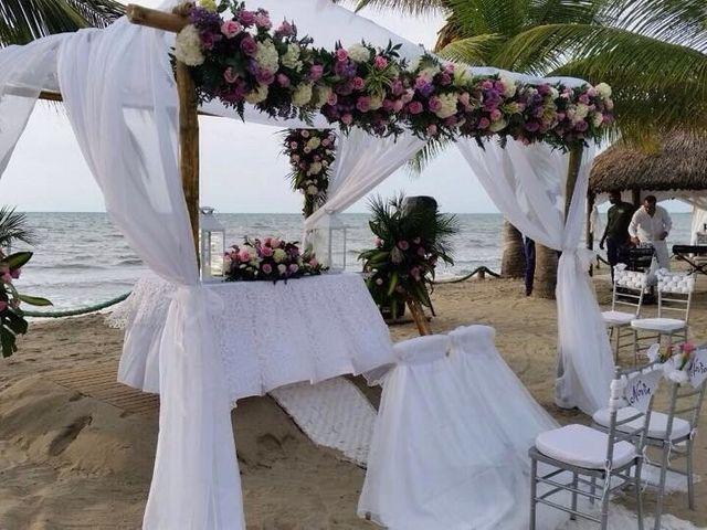 El matrimonio de Lina y Juan Sebastián  en Tolú, Sucre 20