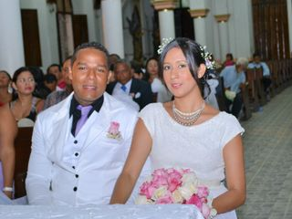 El matrimonio de Sandra y Niki