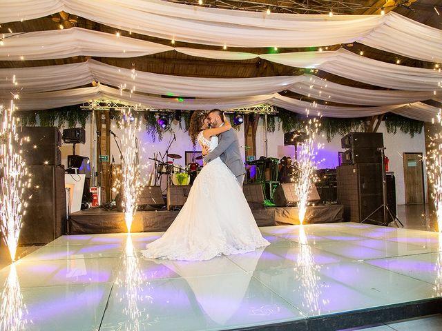 El matrimonio de Camila y Jown